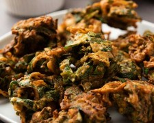 Buñuelos de alga wakame